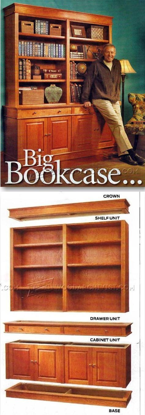 25 unique cool woodworking projects ideas on pinterest for Building a bookcase for beginners
