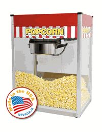 Commercial Popcorn Machine measurement amounts