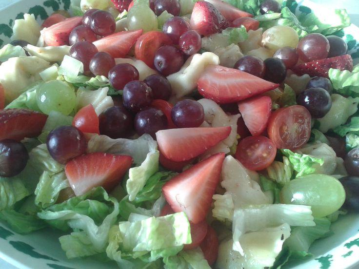 1000 id es sur le th me salade verte compos e sur pinterest tomates sechees porc et les tomates. Black Bedroom Furniture Sets. Home Design Ideas