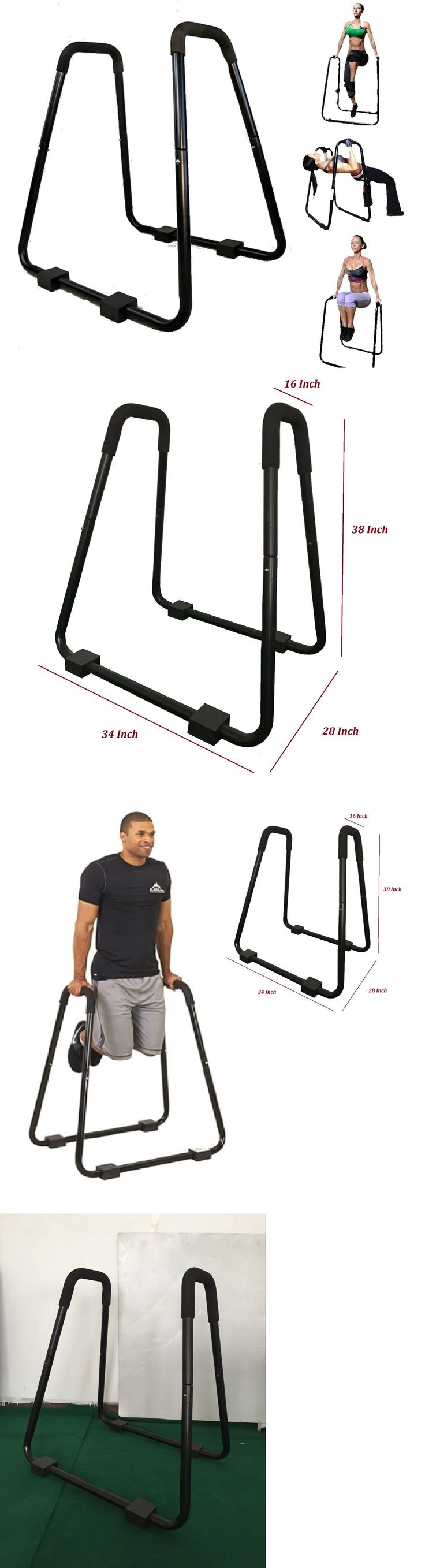 Pull Up Bars 179816: Dip Station Heavy Duty Stand Body Press Pull Up Bars Tricep Pushup Exercise Gym -> BUY IT NOW ONLY: $253.5 on eBay!