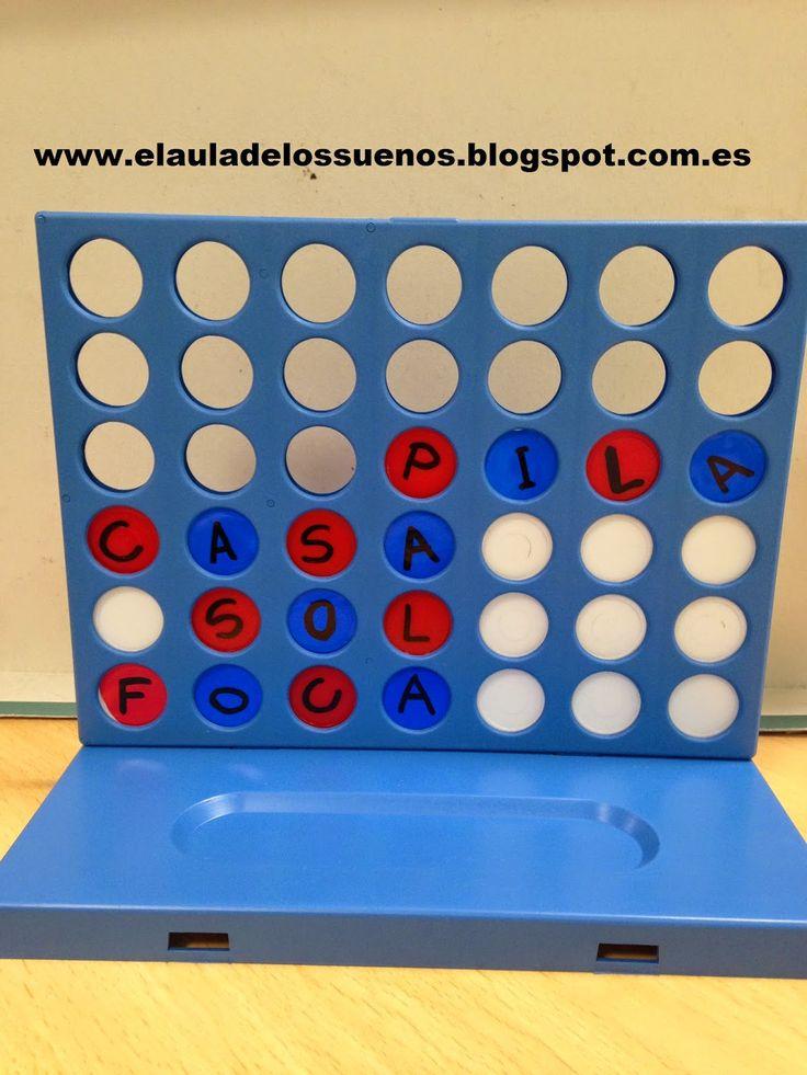 Juego Conecta-palabras DIY