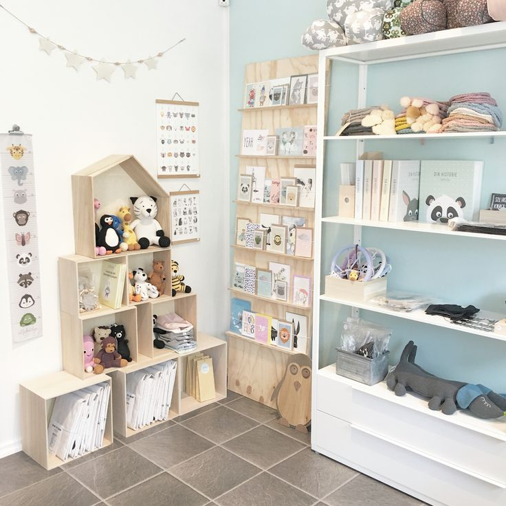 The Alfabetdyr flagshipstore in Denmark, Silkeborg. Alfabetdyr and a lot of other pretty things for the kids room