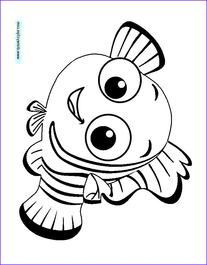 Nemo Coloring Pages Free Printable Nemo Coloring Pages For Kids