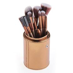 Generic Pro Makeup Brushes Powder Foundation Eyeshadow Eyeliner Lip Tool (12pcs) Set