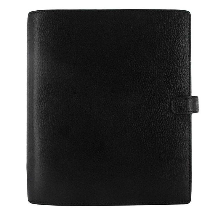 Filofax - Finsbury Organizer - Black Leather - A5