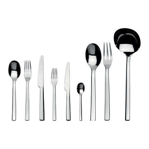 A nice set of flatware is a dining essential, and the soon to be married couple will appreciate a modern set such as the Ovale 75-piece Cutlery Set from Alessi. http://www.yliving.com/blog/wedding-bridal-shower-gift-guide/