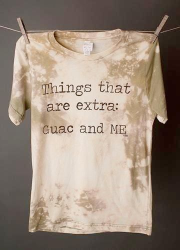 """Gina """"Things That Are Extra"""" Bleached Green Tee"""