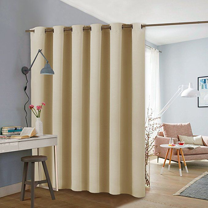 Pony Dance Room Divider Curtains Full Length Grommet Top Privacy