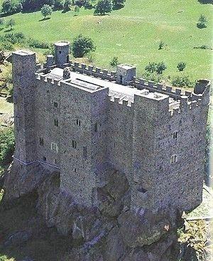 Castello di Ussel - Valle d'Aosta
