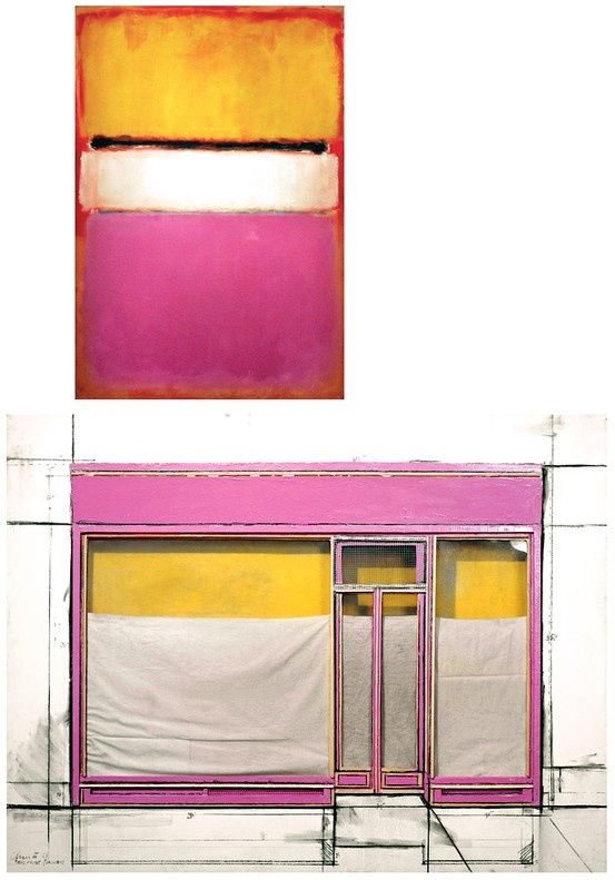 Rothko/Christo et Jeanne-Claude