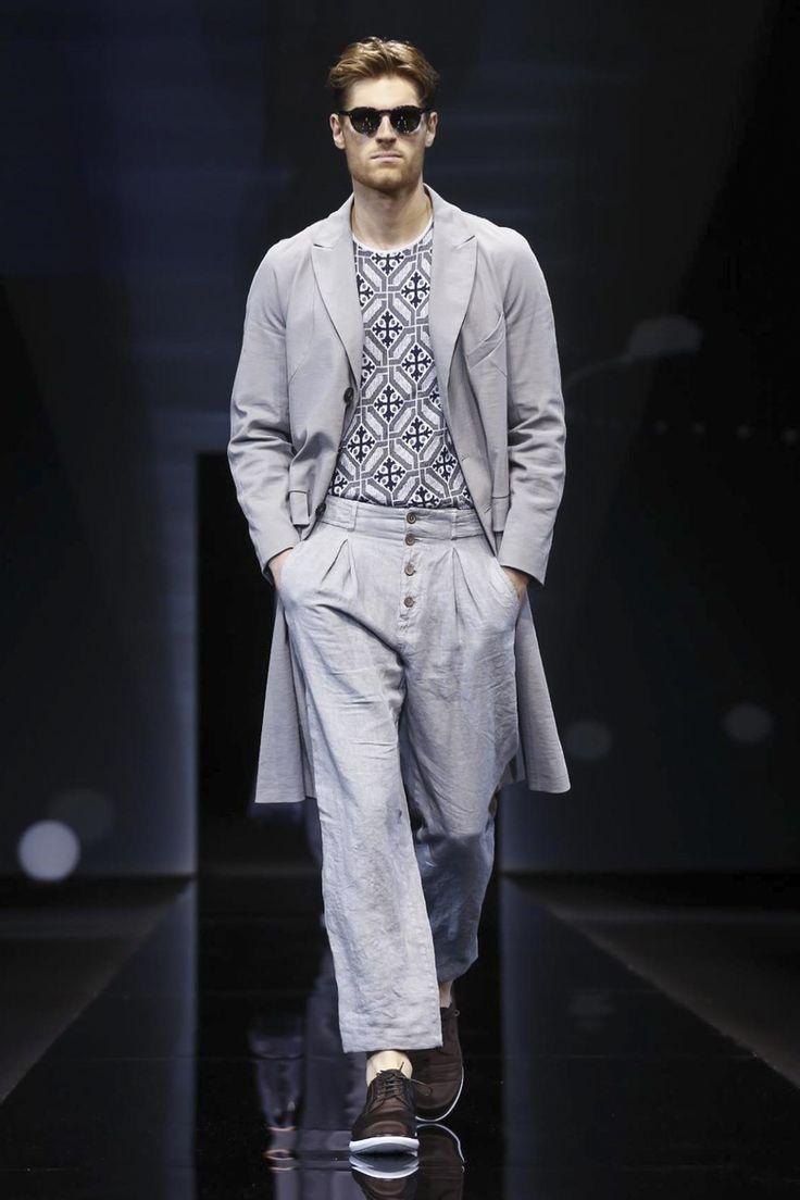 Milan Menswear S/S 2017  Giorgio Armani