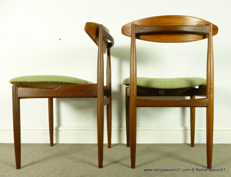 4 Teak Dining Chairs By Ib Kofod Larsen For G Plan | Ib Kofod Larsen |  Pinterest | Teak, Dining Chairs And Mid Century