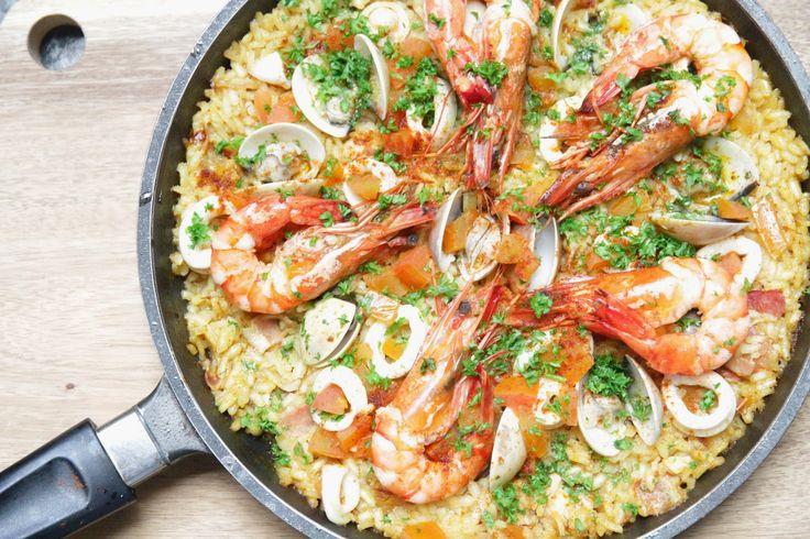 e.e.r.f kitchen: Deliciosa Paella