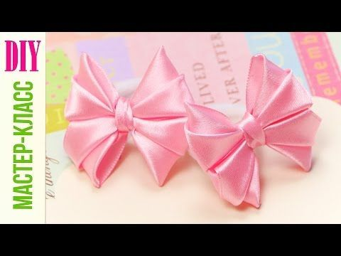 How-to: Cute Hair Bows (Tutorial) / DIY NataliDoma - YouTube