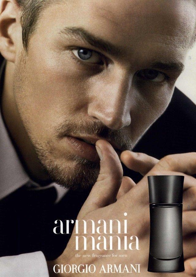 Armani Mania. Giorgio Armani | Fragance Ads | Men with ...
