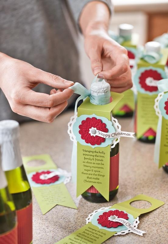 Love these tags and the saying. Cute on little champagne bottles.