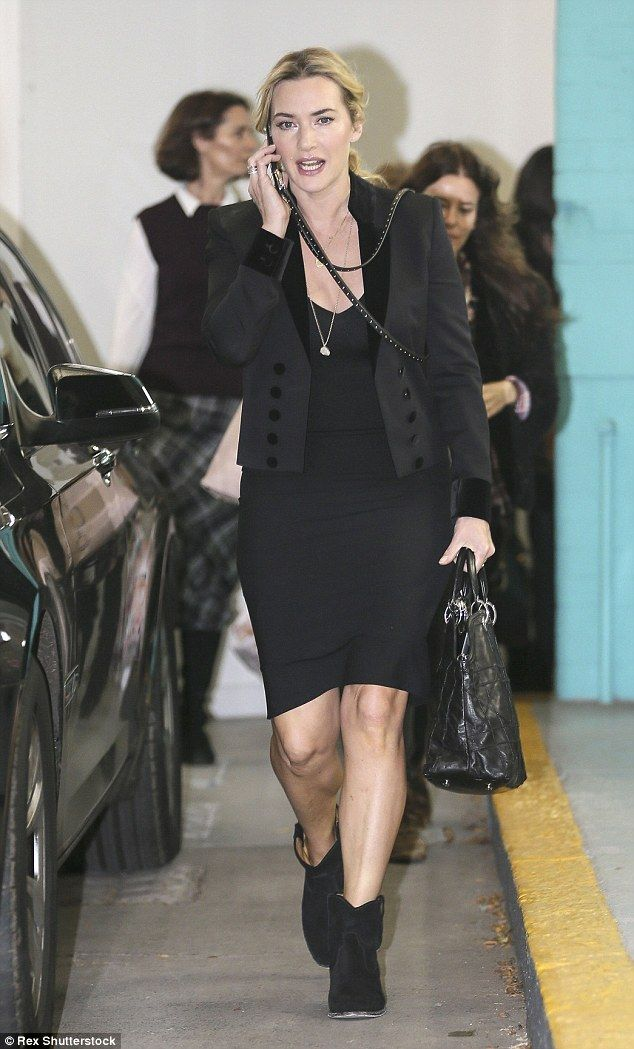 Gorgeous: Kate Winslet put on a typically stunning display when she appeared on ITV's Lorr...
