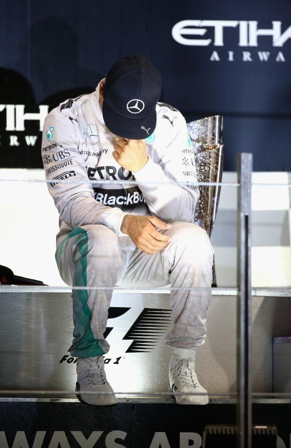Lewis Hamilton #f1 #2014 #abudhabigp