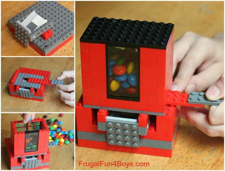 lego candy dispenser instructions