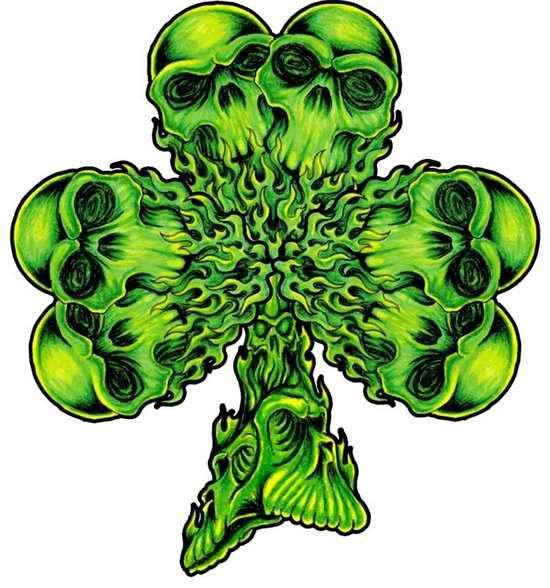 Celtic Tattoos For Women | Celtic Tattoos Shamrock image - vector clip art online, royalty free ...