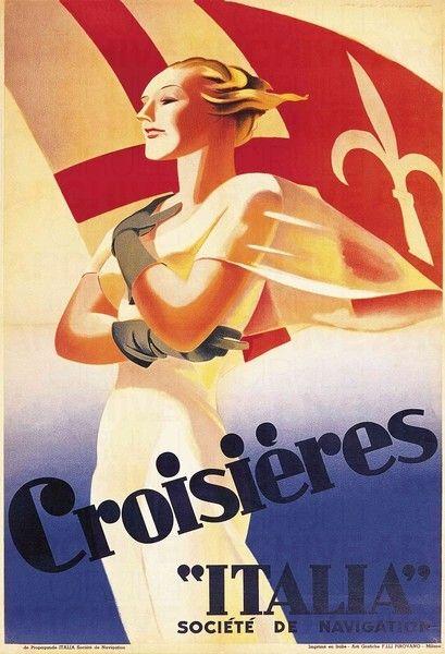 Italy. Poster, c.1938 // Marcello Dudivich