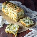 Garlic Herb and Cheese Pull Apart Bread #recipe