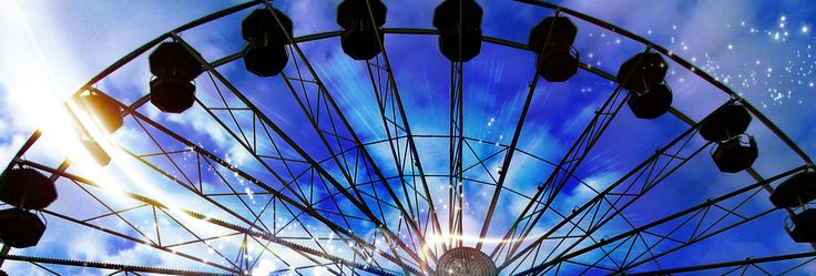 Spring is traditionally the time of fun and joy in Prague. It does't matter how old you are-visit Matějská – the biggest amusement park in the Czech Republic!