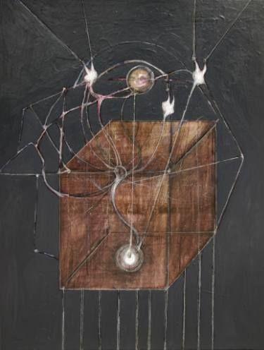"Saatchi Art Artist Simi Gatenio; Painting, ""Pandora's box"" #art"