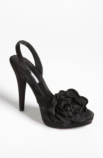 Vera Wang Footwear 'Savy' Sandal available at Nordstrom.  I want this but they don't have my size!  It's a gorgeous baby pink :-(
