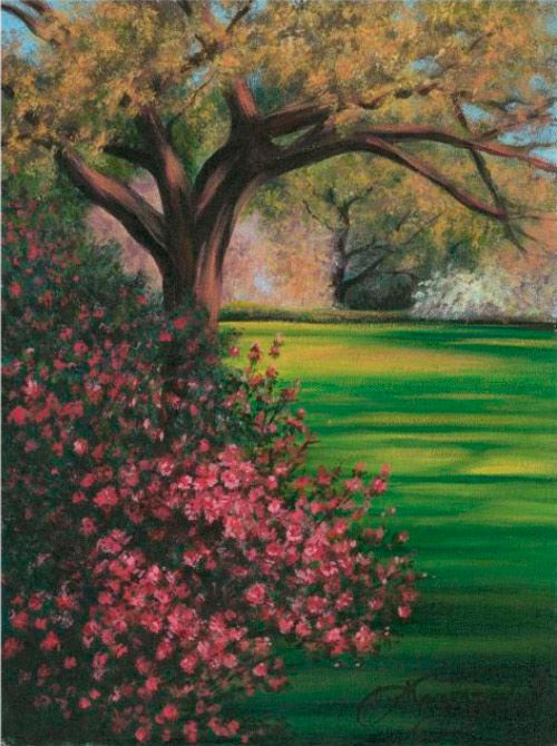 25 best ideas about easy acrylic paintings on pinterest for Landscape paintings for beginners