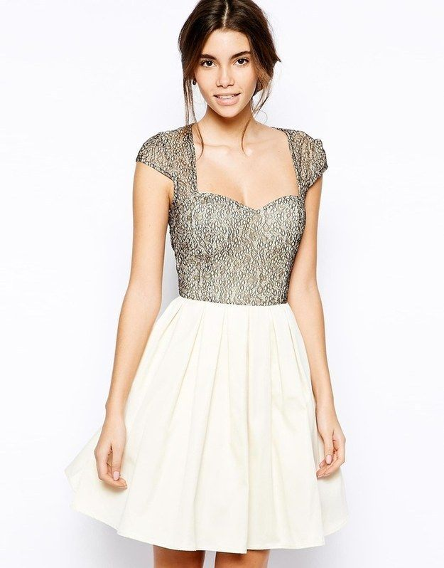 Chi Chi London Lace Prom Dress with Sweetheart Neck, $59 | 35 Perfect Prom Dresses Under $100