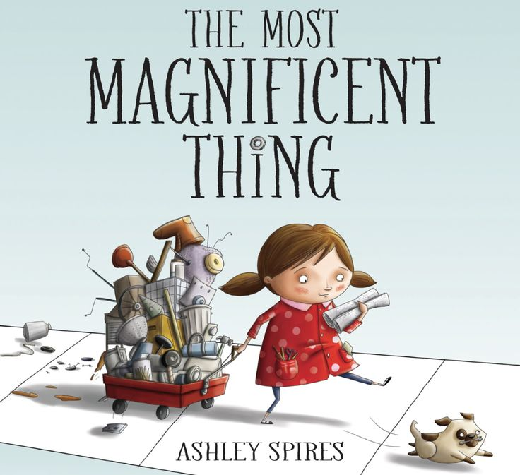 """This is Stop Motion Animation of the book """"The Most Magnificent Thing"""" written and illustrated by Ashley Spires. Ripped Apart and animated by students at Elm..."""