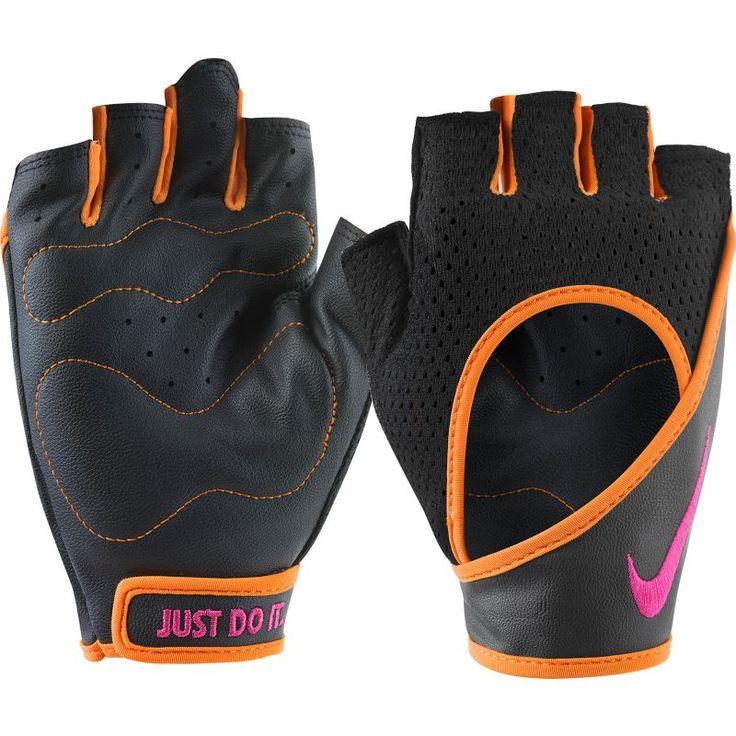 Nike Women's Performance Wrap Training Gloves, Black