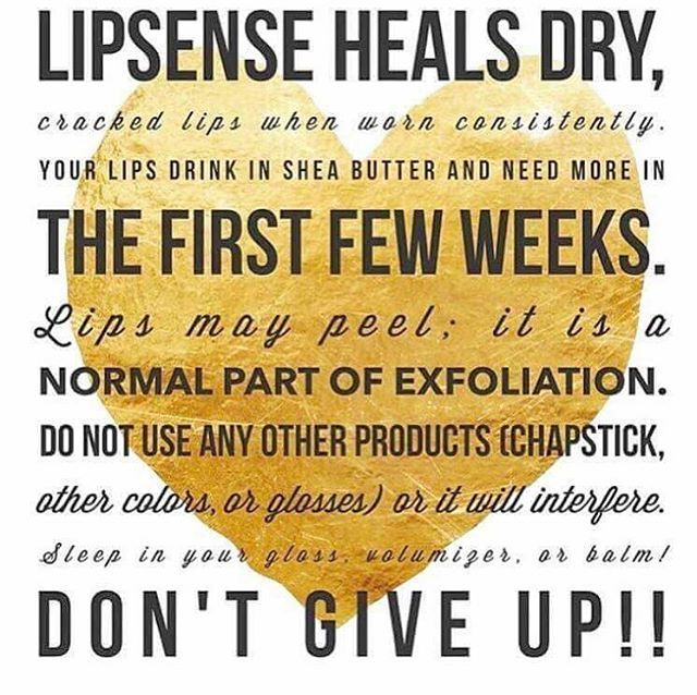 Lipsence is different from any other lipstick in that it actually heals your lips! How amazing is that?!
