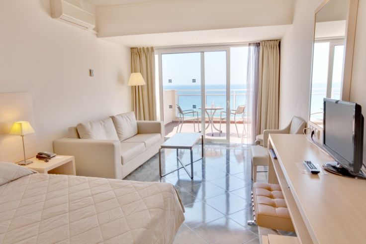 A room at the Aquis Pelekas Beach Hotel. #Greece #Corfu