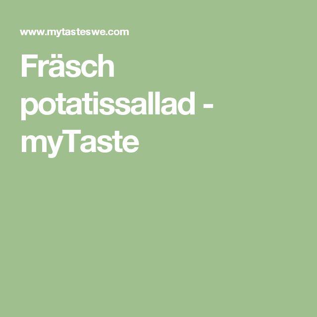 Fräsch potatissallad - myTaste
