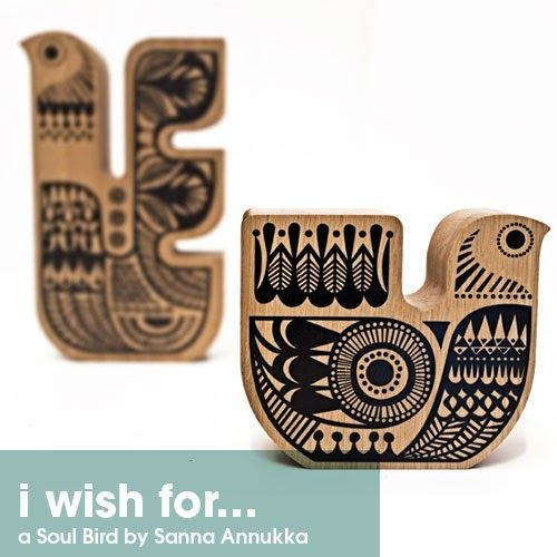 Todays 'i wish' has a Finnish theme to it to keep in line with my recent posts.   { Soul Birds by Sanna Annukka} Sanna Annukka  has been on ...