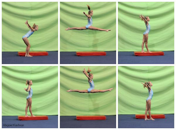 Compulsory Leaps & Jumps Series – Split Jumps | Swing Big!