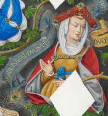 """Isabel de Portugal, Duquesa da Borgonha – Wikipédia, a enciclopédia livre alt. A infanta D. Isabel, filha de D. João I e D. Filipa de Lencastre, foi, pelo seu casamento e sobretudo por mérito próprio, um """"peso pesado"""" da política europeia no século XV. A nossa amnésia nacional já a esqueceu, mas, no estrangeiro, continuam a publicar livros sobre esta extraordinária duquesa de Borgonha."""