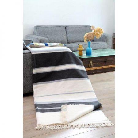 Koc Bawełniano-Akrylowy 150x200 wz. 0467/1