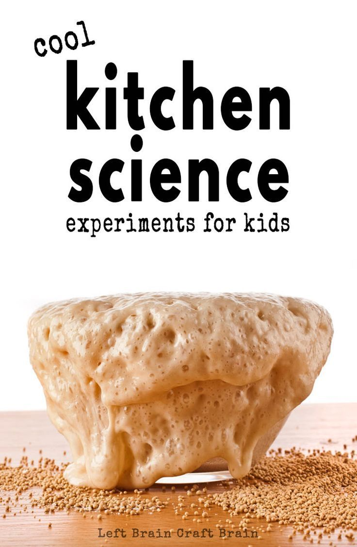 Have fun in the kitchen with these cool kitchen science experiments for kids. Think magic milk, walking water, oobleck, food science, and more!  [ad]