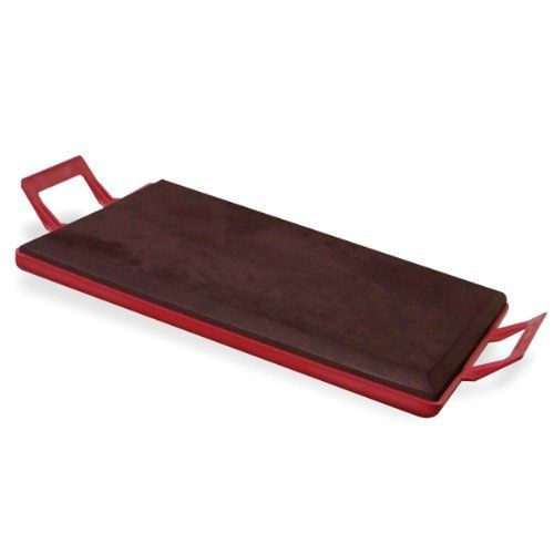 BuffaloTools KBOARD Kneeling Board with Cushion by Buffalo Tools. $23.09. Make laying carpet and tile, finishing concrete, making auto repairs, and plumbing projects easier on your knees. Can be hosed off and washed down when it gets dirty. Save your knees when you are gardening, unclogging a drain or making home repairs. The large 19-inch by 13.5-inch kneeling pad is 1-inch think, providing lots of room and plenty of cushioning. Save your knees when you are gardening, uncloggi...