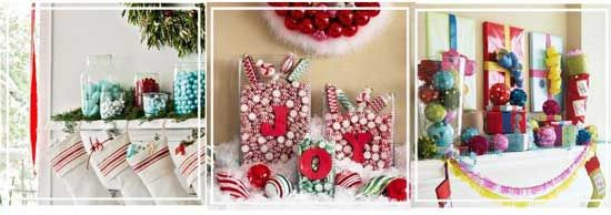 украсить камин конфетами #рождество #новый_год #украшения #хендмейд #дизайн #камин