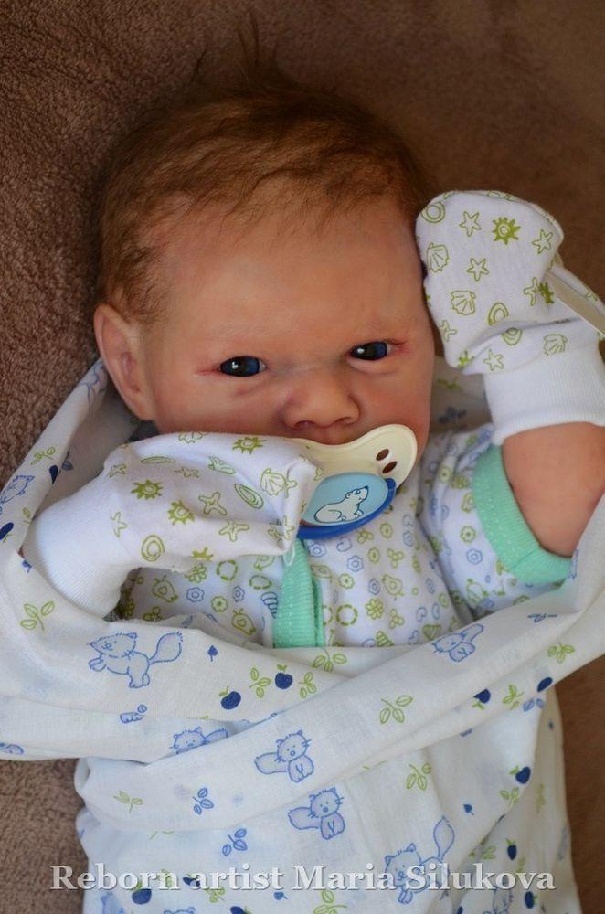 Reborn boy baby doll Gabriel in Dolls & Bears, Dolls, Reborn | eBay