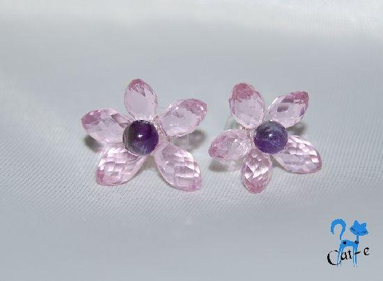 Cercei Crystal Flowers, by CatalinaElena, 20 Lei