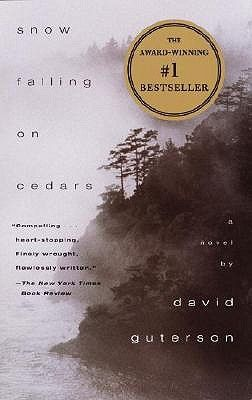This novel, which takes place on a small island near Puget Sound during the 1950s, depicts the murder trial of Kabuo Miyomoto, a Japanese-American accused of killing his white neighbor over an unresolved land dispute.  While a snowstorm rages outside the courtroom, the trial reveals a community divided by old grudges and still suffering from the devastating impact of World War II.
