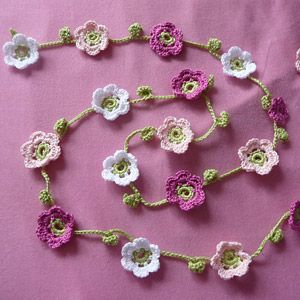 Beautiful Crocheted Garland Patterns