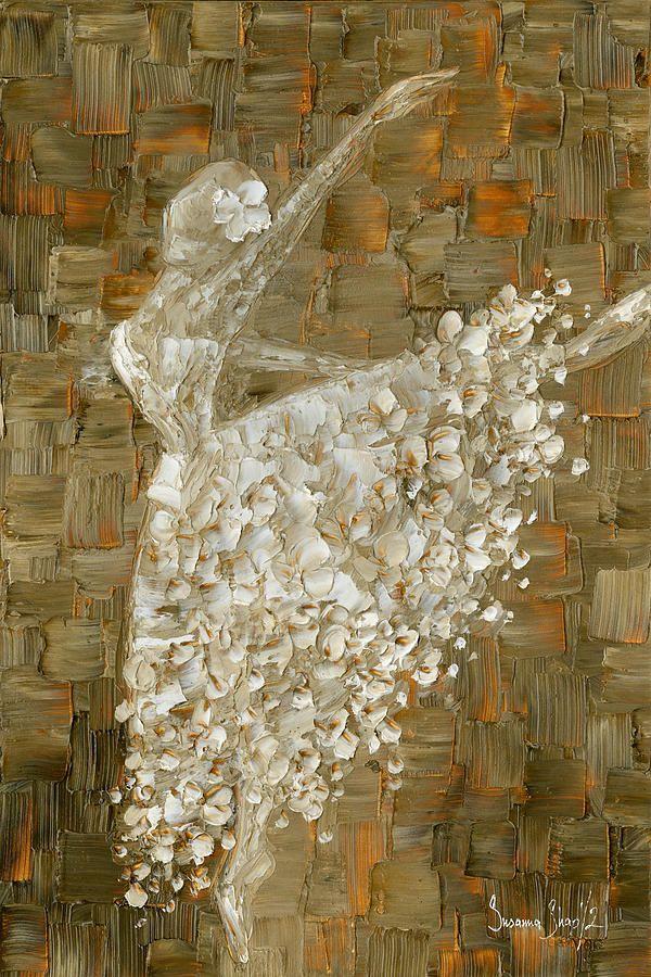 Ballerina Painting by Susanna Shaposhnikova