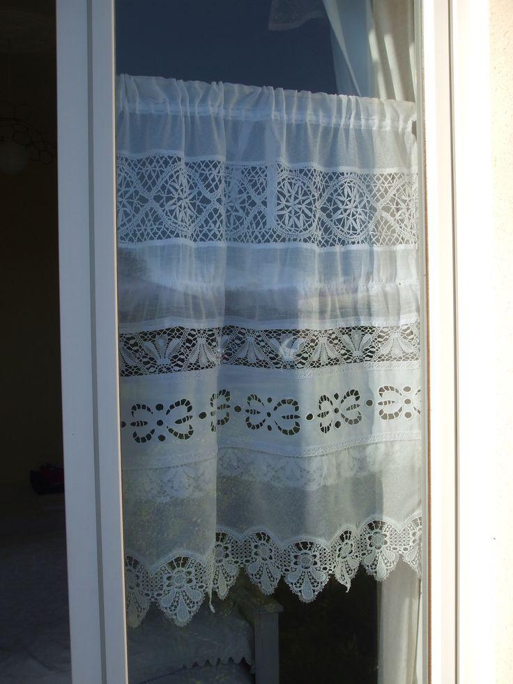 1000 id es sur le th me rideau avec ruban sur pinterest. Black Bedroom Furniture Sets. Home Design Ideas