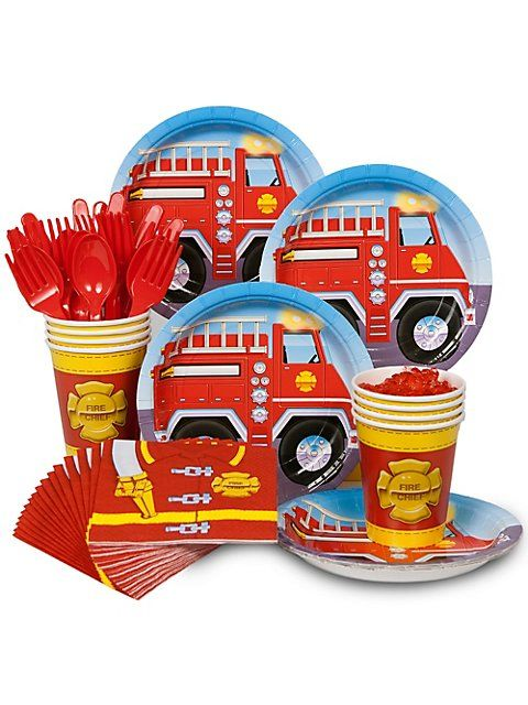 Firefighter Birthday Party - Creative Party Themes and Ideas